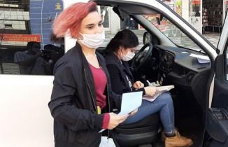 Kahramanmaraş'ta sokağa çıkma yasağına uymayan genç kızdan şaşırtan açıklama
