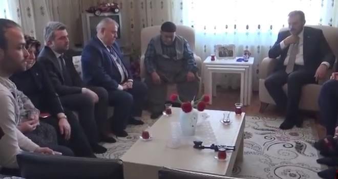 64. Hükümet Kültür ve Turizm Bakanı Ünal şehit ailesini ziyaret etti