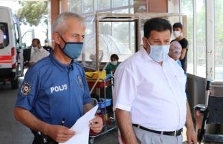 Kahramanmaraş'ta FETÖ davasında bilgi vermeye giden başkan darp edildi!