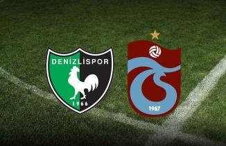 Denizlispor - Trabzonspor maçı ne zaman, saat kaçta?