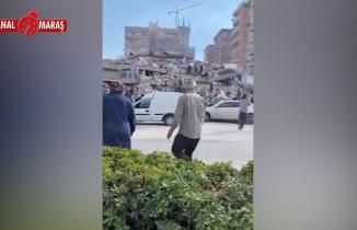 İzmir'de büyük deprem: 8 katlı bina çöktü!