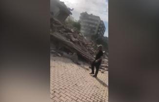 İzmir'deki kabus anları kamerada! Korkunç görüntüler