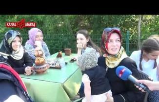 Dulkadiroğlu'nun Cevizli Park Çay Bahçesi Kanal Maraş kameralarına böyle yansıdı