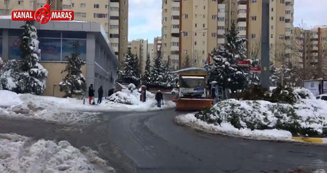 Beylikdüzü Belediyesi kar küreme aracını madara eden İBB aracı