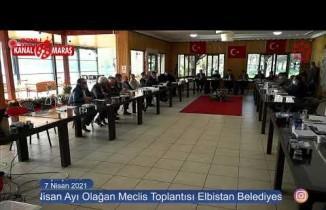 Elbistan Belediyesi Meclisi'nde kavga çıktı! İşte o görüntüler