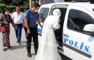 Adana'da evlenmek istemeyen 22 yaşındaki genci polis kurtardı