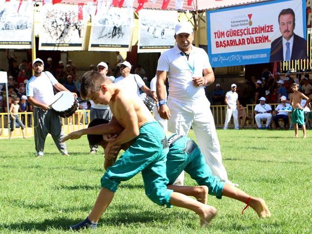 27. Altın Kemerli Karakucak Güreş Festivali başladı
