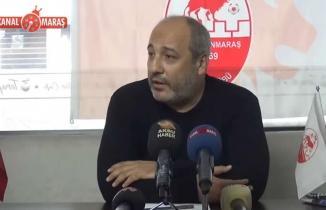 Kahramanmaraşspor Başkanı Ceyhan'dan önemli açıklamalar!