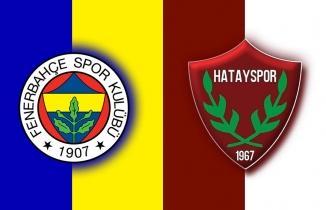 Fenerbahçe Hatayspor Maçı | CANLI İZLE