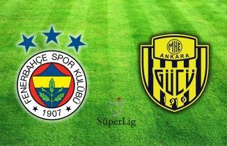 Fenerbahçe Ankaragücü maçı SelcukSports şifresiz Taraftarium24 izle