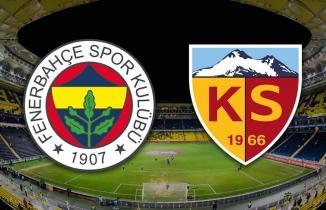 Fenerbahçe Kayserispor maçı canlı izle Bein Sports 1 bedava Fener Kayseri İZLE