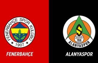 Fenerbahçe - Alanyaspor maçı (ÖZET İZLE)