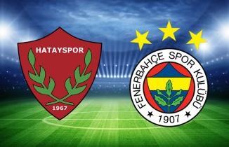Hatay - Fener (CANLI İZLE) Hatayspor Fenerbahçe maçı şifresiz Bein Sports 1 bedava izle