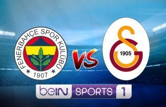 CANLI YAYIN: Fenerbahçe - Galatasaray maçı canlı izle! BeIN Sports 1 canlı yayın...