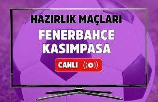 Fenerbahçe - Kasımpaşa maç sonucu: 4-1 (Hazırlık maçı)