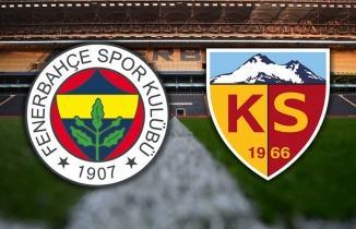 Fenerbahçe Kayserispor maçı SelçukSports şifresiz canlı izle Fenerbahçe Ankaragücü Bein Sports 1