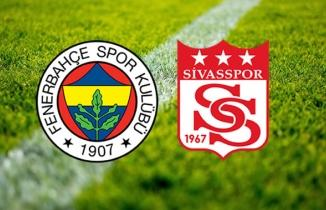 Fenerbahçe kaçtı, Sivasspor yakaladı (Fenerbahçe 1-1 Sivasspor MAÇ SONUCU | ÖZET)