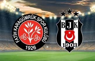 Taraftarium24 Hd Fatih Karagümrük Beşiktaş Canlı izle Bein Sports 1 bedava maç yayını