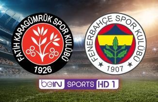 Lig TV HD Canlı Maç İzle: Fatih Karagümrük Fenerbahçe
