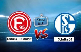 Fortuna Düsseldorf - Schalke 04 maçı canlı izle!