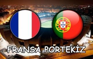 Fransa - Portekiz Maçı (CANLI İZLE)