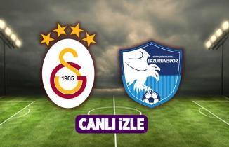 Galatasaray BB Erzurumspor İZLE şifresiz GS Erzurum maçı bedava Bein Sports Canlı Maç Yayını