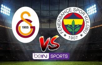 CANLI YAYIN: Galatasaray - Fenerbahçe maçı canlı izle! beIN Sports 1 canlı yayın...