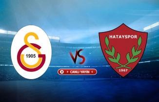 Galatasaray - Hatayspor maçı (CANLI İZLE)
