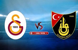 Galatasaray - İstanbulspor maçı / CANLI İZLE