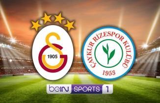 (GS RİZE CANLI) Galatasaray - Çaykur Rizespor maçı şifresiz kesintisiz Bein Sports 1 HD canlı izle