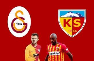 Galatasaray - Kayserispor CANLI İZLE | beIN Sports 1 şifresiz canlı maç izle
