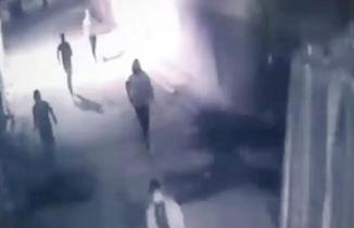 Gaziantep'teki silahlı saldırıyı güvenlik kamerası kaydetti