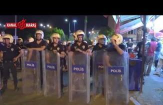 Gaziantep'te tehlikeli gerginlik! Mahalleli sokağa döküldü