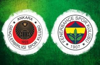 Gençlerbirliği Fenerbahçe maçı CANLI İZLE