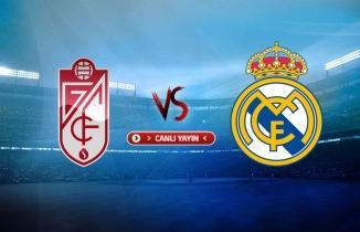 CANLI YAYIN: Granada - Real Madrid maçı canlı izle! Spor Smart canlı yayın...
