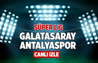 GS - ANTALYA (CANLI İZLE) Galatasaray Antalyaspor Maçı Şifresiz Bein Sports 1 Bedava İzle