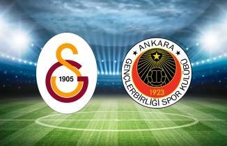Galatasaray - Gençlerbirliği maçı (CANLI İZLE)
