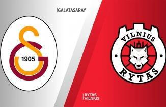 Galatasaray Doğa Sigorta - Rytas Vilnius maçı (CANLI İZLE)