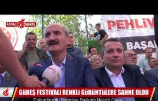 Güreş Festivali'nin rüzgarı Bertiz Boyalı'da esti