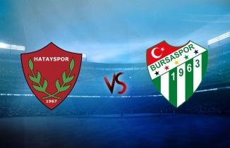 Hatayspor Bursaspor Maçı (CANLI)