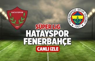 Hatayspor Fenerbahçe Şifresiz CANLI İZLE Justin TV Taraftarium24