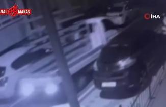 Üsküdar'da kamyonet hırsızlığı güvenlik kamerasında