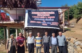 Kahramanmaraş'ta mahalle halkından Hayrettin Güngör'e pankartlı tepki!