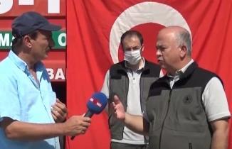 Kahramanmaraş'ta Orman yangınlarına mücadele ekibinden yangın tatbikatı!