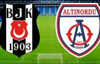 Beşiktaş - Altınordu CANLI İZLE | BJK TV