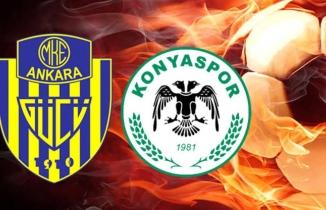 Ankaragücü - Konyaspor maçı (CANLI İZLE)