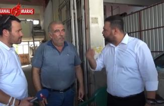 Ahmet Çabukel esnafa bir sordu bin ah işitti