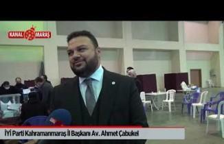 İYİ Parti Kahramanmaraş İl Başkanı Çabukel'den 'grev' açıklaması