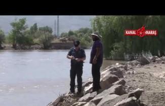 Kahraman çoban Köprüden Karasu nehrine atlayan kadını boğulmaktan kurtardı