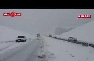 Kahramanmaraş-Kayseri yolu sürücülere geçit vermiyor!